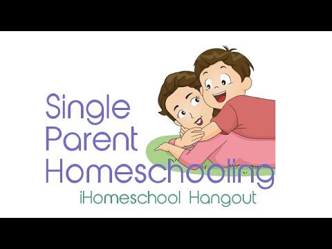 Single Parent Homeschooling