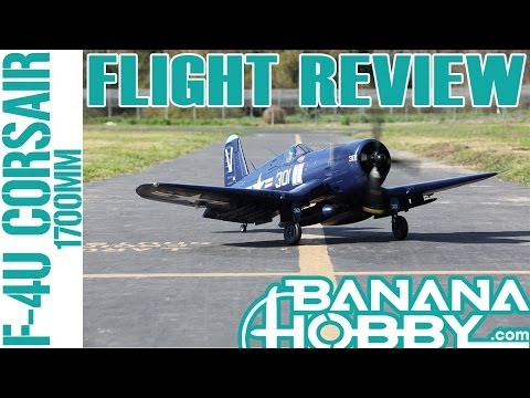 F4U Corsair 1700mm FMS   Flight Review   Warbird & Military