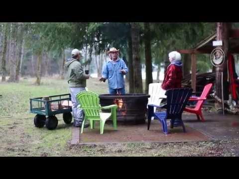 Cowlitz River Log Home