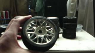 Slash 4x4 17mm buggy wheels tires