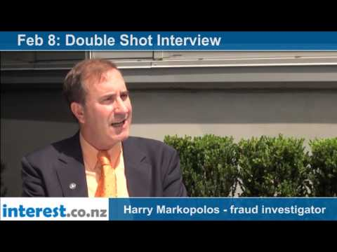 Double Shot Interview: Harry Markopolos - fraud investigator with Bernard Hickey
