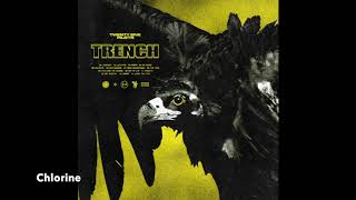 Trench album but its sped up after every song title