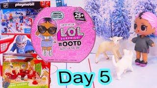 Day 5 ! LOL Surprise - Playmobil - Schleich Animals Christmas Advent Calendar - Cookie Swirl C