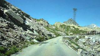 Switzerland 163 (Camera on board): Col du Grimsel [Grimselpass(BE)-Oberaarsee]