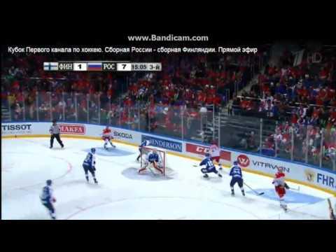 Хоккей Россия Финляндия 19 12 2015 !!!ПОРВАЛИ ЖОПУ ФИНАМ!!!