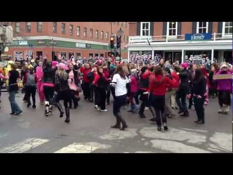 One Billion Rising - State & Main, Montpelier, Vermont