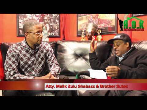 Atty  Malik Zulu Shabazz Addresses Brother Polight & The Moors