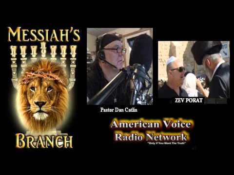 Zev Porat on Messiah's Branch Radio! Revival in Israel!
