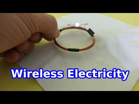 Wireless Electricity: a Simple Experiment