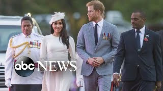 Prince Harry and Meghan Markle visit Fiji