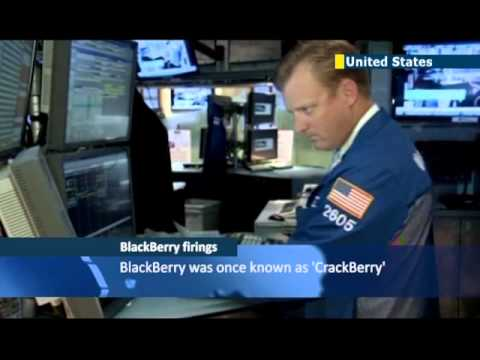 Blackberry to lay off 4,500 employees following second quarter losses of almost one billion dollars