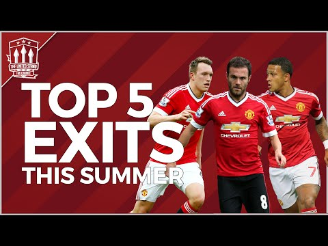 Man Utd players to leave this summer