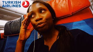 WOW or NEVER AGAIN?? Turkish Airlines Economy Class | London to Istanbul | Sassy Funke