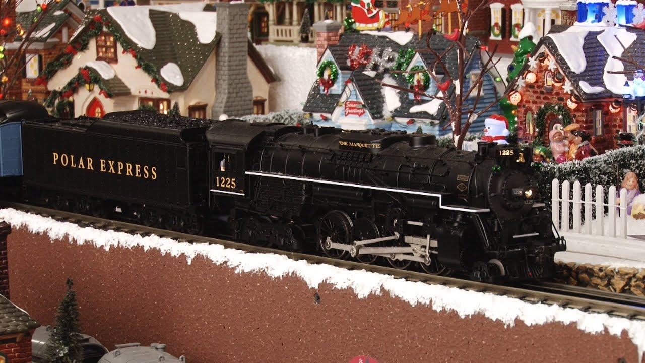 Polar Express Scale Heavyweight Complete Train Youtube