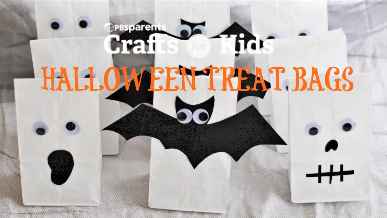 3 Halloween Treat Bags | Crafts for Kids
