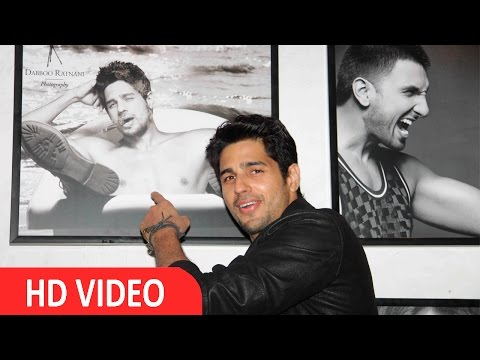 Sidharth Malhotra At Dabboo Ratnani 2016 Calendar Launch