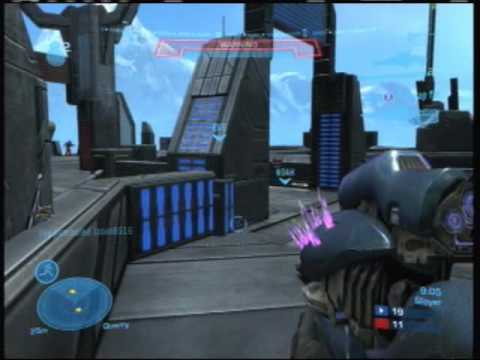 Halo Reach Multiplayer Gameplay Commentary Tips on Atom