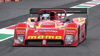 Ferrari 333 SP Pure V12 Sound at Mugello Circuit!