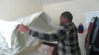 Jerome's Random Videos: Making up the bed