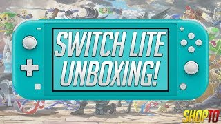 Nintendo Switch Lite Unboxing | Turquoise Version | ShopTo