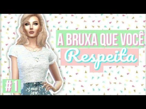 CONHECENDO A BRUXINHA Da Nova Série!   Aprendiz de Feiticeira #1 (Mod Bruxos)   The Sims 4
