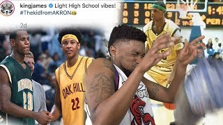 I HAD TO TURN IT OFF! Lebron James FULL High School Highlights