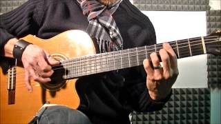 Adeste Fideles (O Come All Ye Faithful)- Fingerstyle Guitar
