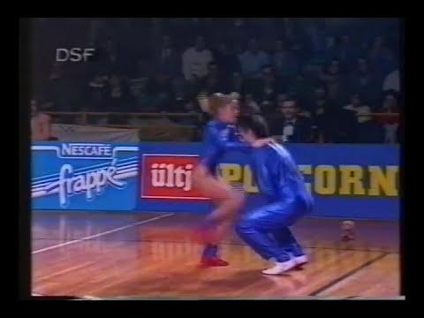Dorothée Blanpain & Mikael Angueira - Weltmeisterschaft 1992