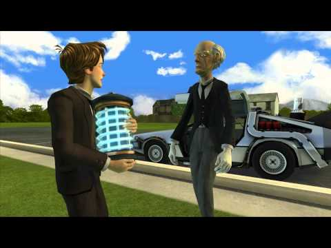 Back to the Future: The Game - Episode 5: OUTATIME Walkthrough pt 1