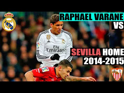 Raphael Varane vs Sevilla Home | 04-02-2015 | Individual Highlights [HD]