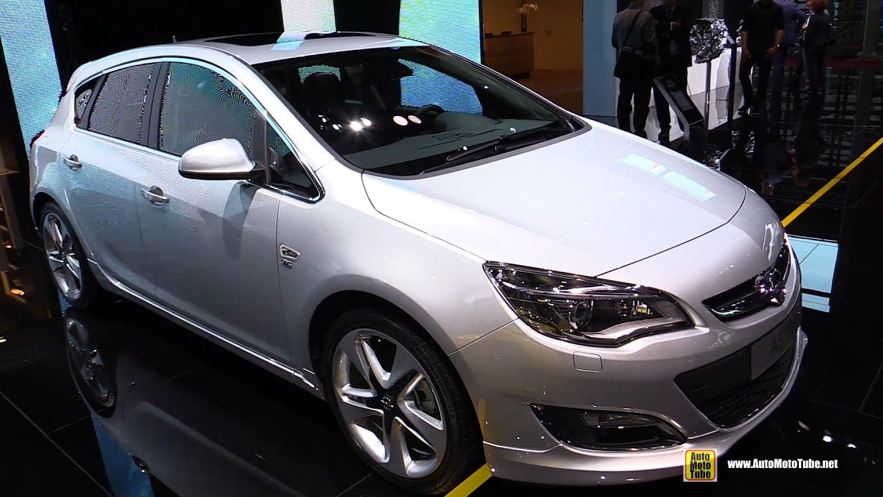 2015 Opel Astra Cosmo EcoFlex OPC Line - Exterior and ...