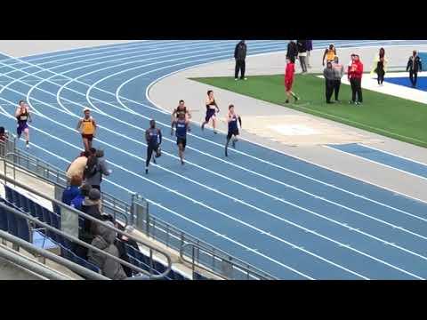 Caulin Graves 2018 Drake University Jim Duncan Invitational 200m Finals