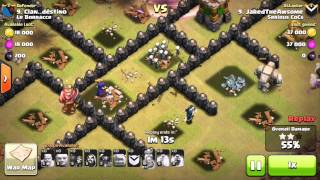 Download HOW TO 3 STAR A MAX TOWNHALL 8 TH8 USING NON AIR TROOPS W. WAR REPLAYS! 3Gp Mp4