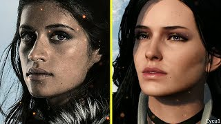 The Witcher Netflix TV Series vs Witcher 3 Character Comparison