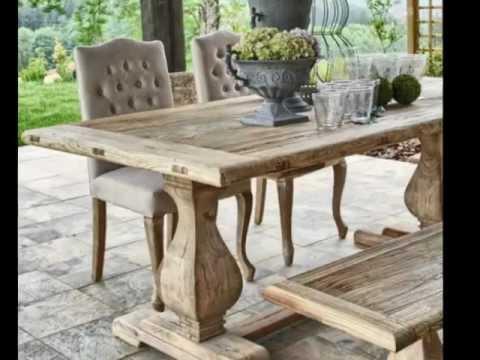 Muebles rusticos madera youtube for Muebles rusticos de madera