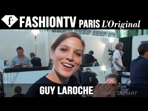 Guy Laroche Hair & Makeup | Paris Fashion Week Spring/Summer 2015 | FashionTV