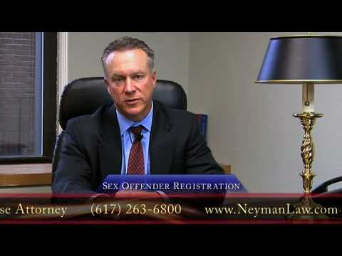 Boston Criminal Defense Attorney - Sex Offender Registration