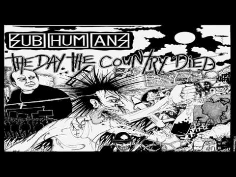 Subhumans - The Day The Country Died Album