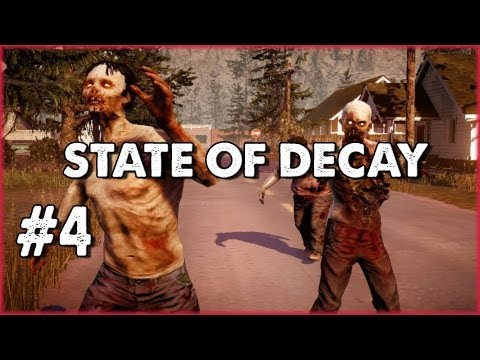 Let's Play State of Decay - Part 4: My First Outpost