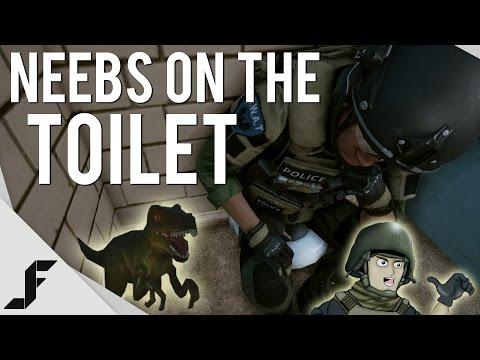 Neebs on the Toilet! - Battlefield Hardline Easter Egg