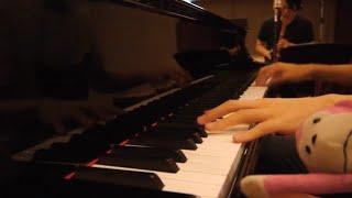 「創聖のアクエリオン」をピアノと尺八で合体してみた