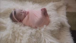 Newborn Photography wrapping tutorial