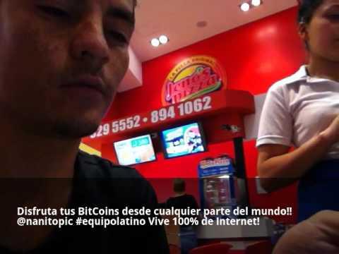 Pagando con BitCoin Como cualquier moneda
