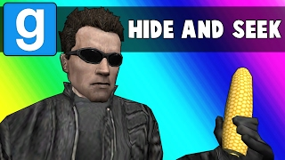 Gmod Hide and Seek Funny Moments - The Snake Mop (Garry