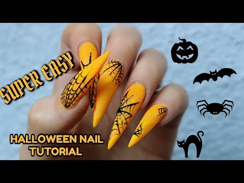 EASY HALLOWEEN DESIGNS - 31 DAYS OF HALLOWEEN NAILS