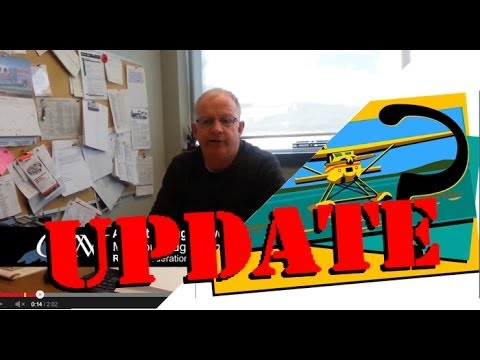UPDATE- Airport Mgr Owen Cranney re: Float Plane Training Centre