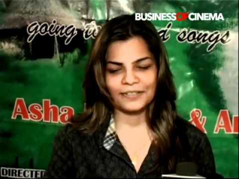 Singer Mamta Sharma at Pani Re Pani song recording
