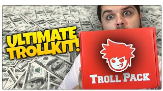 WINNING THE LOTTERY!? | Troll Pack Unboxing | Prank Items & More!