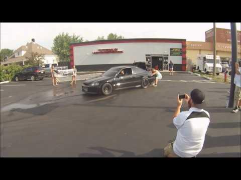 800 Hp Turbo Honda Civic Burnout!!!