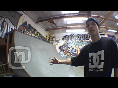 Rob Dyrdek Intros His Personal Training Facility From Back In The Day: Raw N' Real